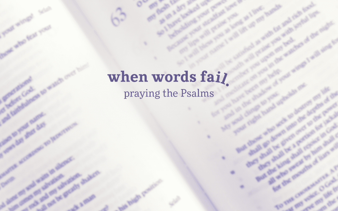 Sunday Online, 4.5.20 | When Words Fail Week 4: The King We Long For (Psalm 24)