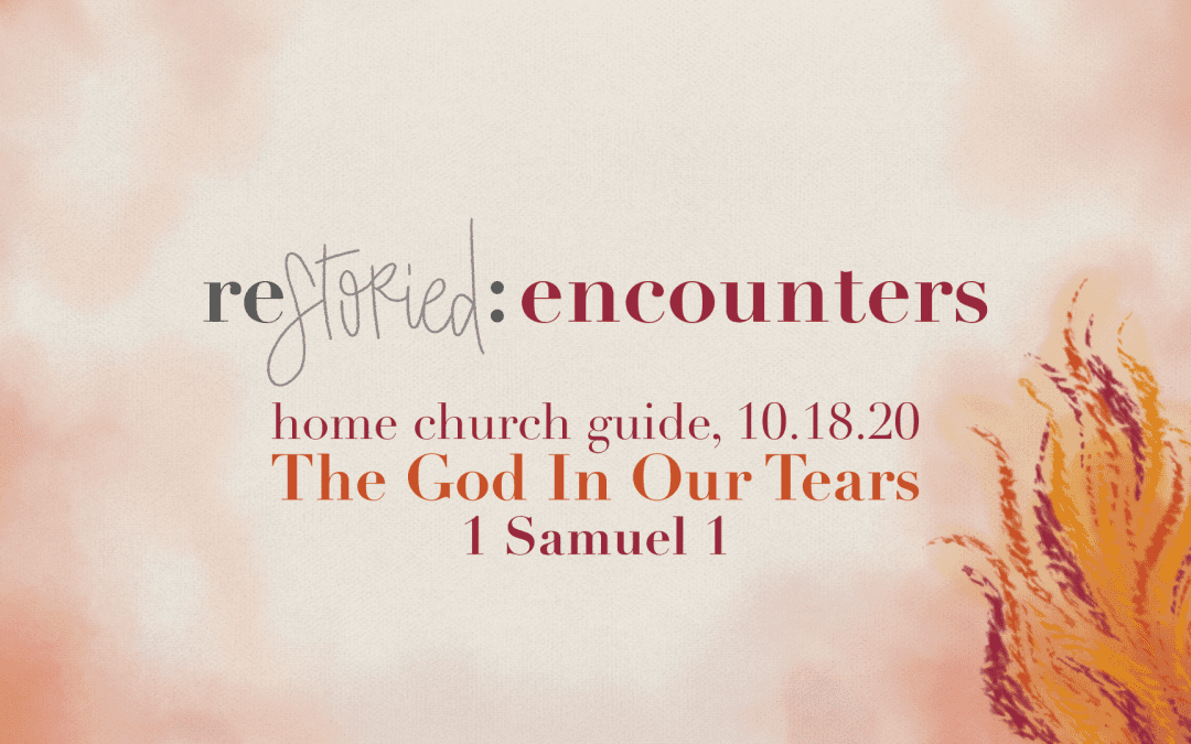 Home Church Guide, 10.18.20 | Restoried: Encounters | The God In Our Tears